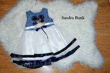 Krásne minnie šaty s mašličkou pre malé dámy, 74 - 104