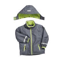 Playshoes zimná bunda uni - sivá, veľ.80-128   , playshoes,80 - 128