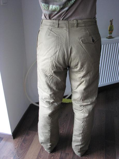 123b443a2 Zateplené pracovné nohavice 50-tka - nenosené, 50 - 6 € od ...