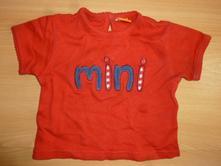 Cervene mini tricko, mini mode,68