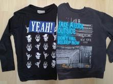 Dve tričká zo zary pre fešáka, zara,128