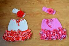 Háčkované sukničky   pre princezny, 50 - 152