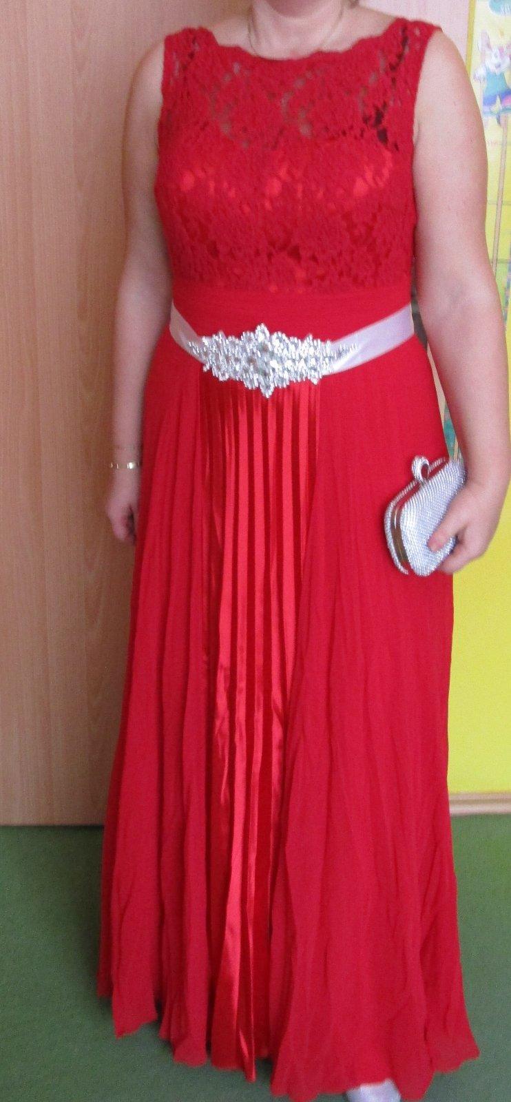 cb743e01efd6 1 x oblečené spoločenské šaty ever pretty veľ. xl