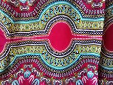 Prekrásna farebná xxl šatka z afriky- nová, xxl