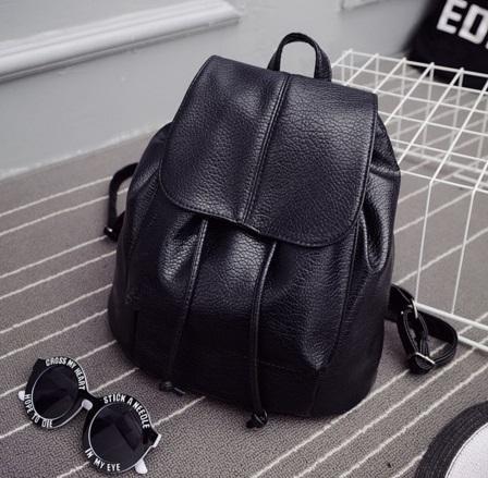 Dámsky ruksak model č.6 čierny bce1a8d94f