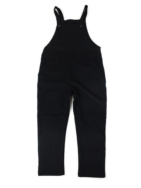 8524712772c7 Dievčenské čierne nohavice na traky