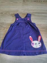 Šaty so zajačikom, f&f,80