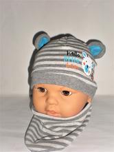 7a10241717a8 Prechodná čiapka s nákrčníkom pre bábätko