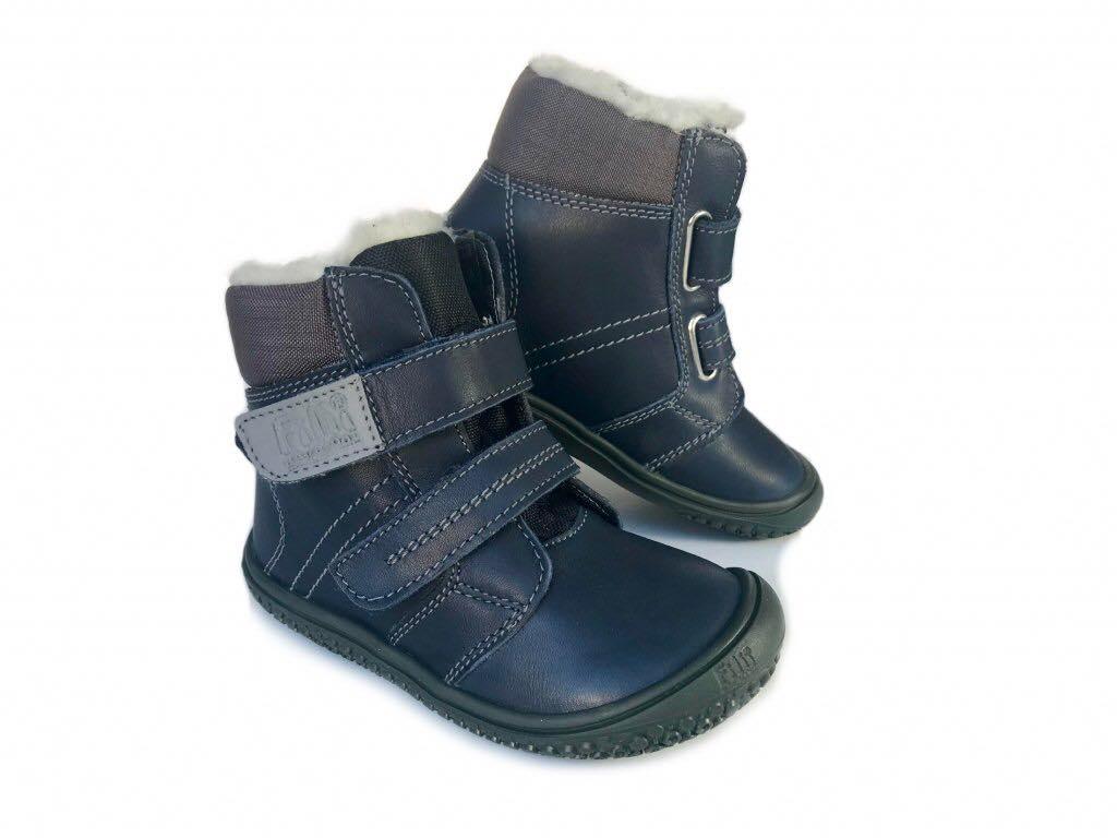 dc2f8ac9f Detské kožené zimné topánky, filii,22 / 23 / 27 / 30 - 74,95 € od  predávajúcej barefootnozka | Detský bazár | ModryKonik.sk