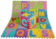 Detsky koberček puzzle-pismenka a abeceda,