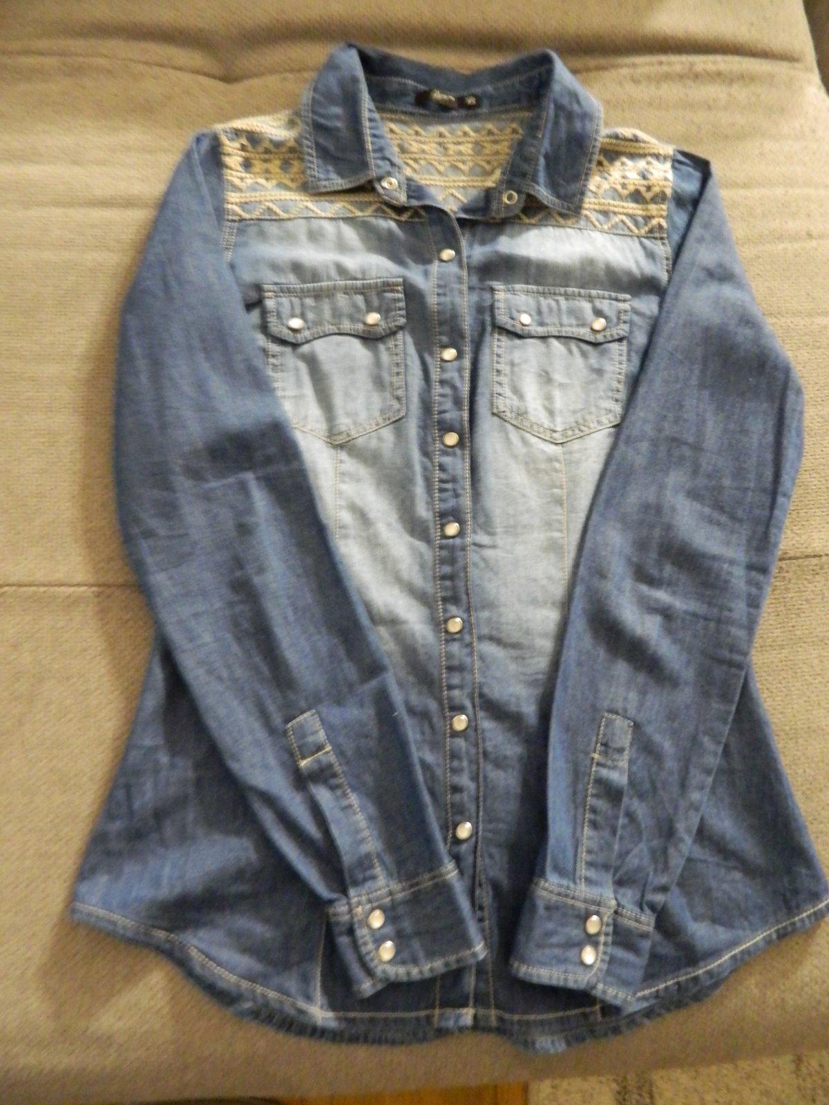 50dbafb9cf Riflová košeľa