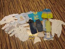 Balík oblečenia pre chlapca (do 6 mesiacov),
