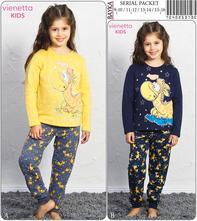 Detské bavlnené pyžamo, 92 - 170