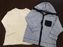 Rebrovane tričká, h&m,92