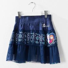 Dievčenská sukňa desigual frozen,11-12 r., desigual,152