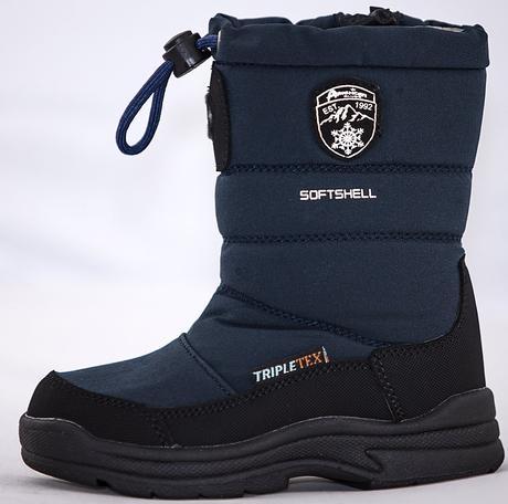 Detské snehule - american 18 60296 b zimná obuv. cb65acf852d