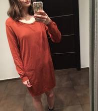 Oranžové šaty, esmara,s