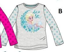 Bavlnené tričko frozen - ľadové kráľovstvo, disney,128