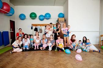 baby & mum fitness cvičenie a  naši kamaráti