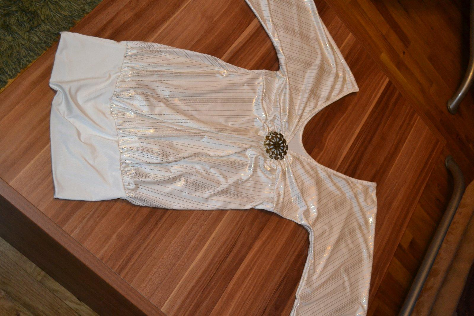 e099b95a17a7 Rensix zlato biele šaty alebo tunika
