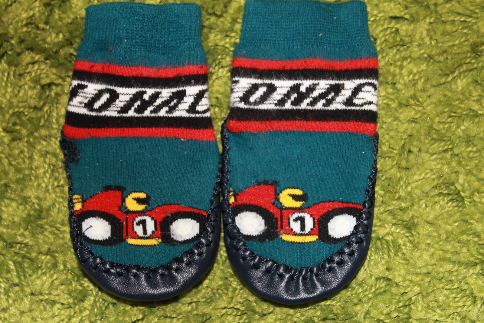 Ponožkové papuče 33d91afde5f