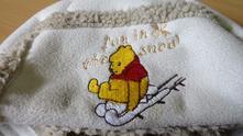 Zimná čiapka - macko pooh, disney,86