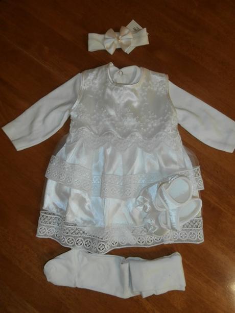 Dievčenské šaty na krst s body smotanová 3 cca 62  f9c60ec9a7d