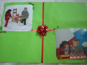 strana z mnou vytvaraneho fotoalbumu pre kamaratku - Vianoce 2010