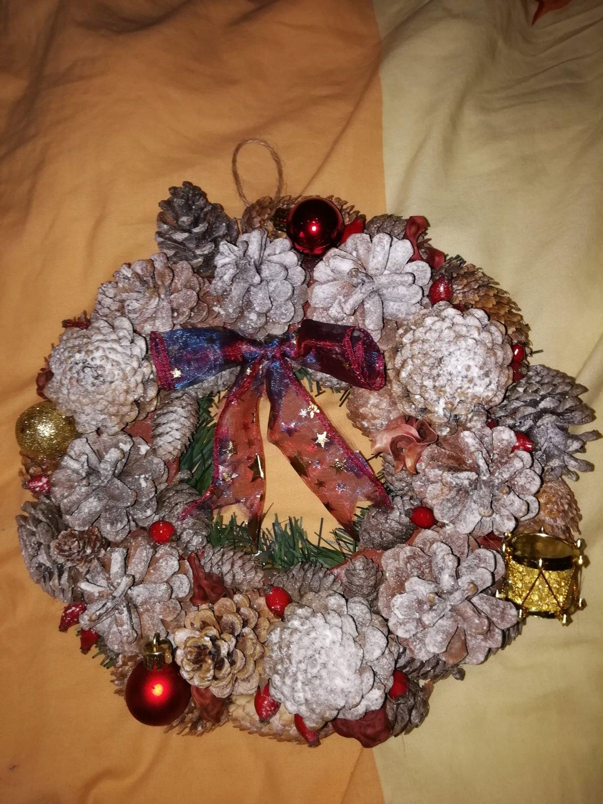 47aa0c6b1 Vianočné vence na dvere, - 13 € od predávajúcej mimaho   Detský bazár    ModryKonik.sk