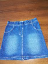 Úpletová rifľová sukničla, f&f,104
