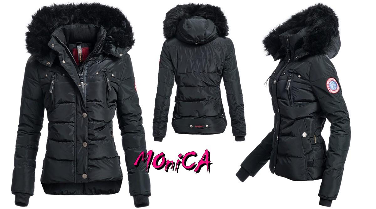 ebf67e51b737 Luxusná dámska zimná bunda -3 farby