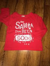 Tričko s vianočným nápisom , f&f,74