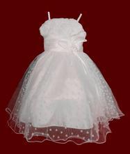 7e8e78e98f4e Dievčenské šaty na leto denka (krémové)