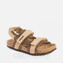 Mayoral korkové kožené sandále 43115-042 hazelnut, mayoral,26 / 27 / 28 / 29 / 30