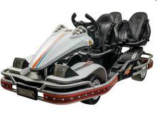 Veľká motokára elektrická 2x45w, 3-miestna,