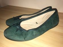 Krásne zelené dámske baleríny, 40