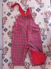 Flanelové nohavice na traky, veľ. cca 74, 74