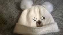 Hrubá zimná čiapočka, f&f,74