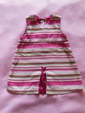 Menčestrové šaty, h&m,86