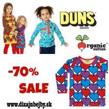 8e935babc387 VYPREDAJ -70% na organické oblečenie DUNS SWEDEN 1 fotka
