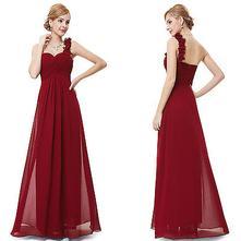 Šaty   Ever-Pretty   Bordová - Detský bazár  ef3d271a682