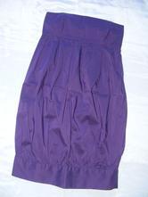 Fialové šaty zn. zara basic - xs/s, zara,xs