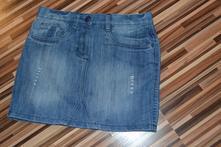 Riflová mini sukňa, 152