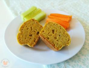 1r.+ Mrkvový muffin se zeleninou ( olovrant )