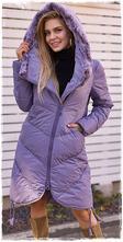 Dámska zimná bunda s kožušinou, sivá, 36 - s