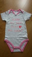 Body- sleep all day,play all night, c&a, baby club,92