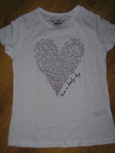 Tričko so srdiečkom, pepperts,134