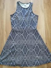 Modré šaty, h&m,m
