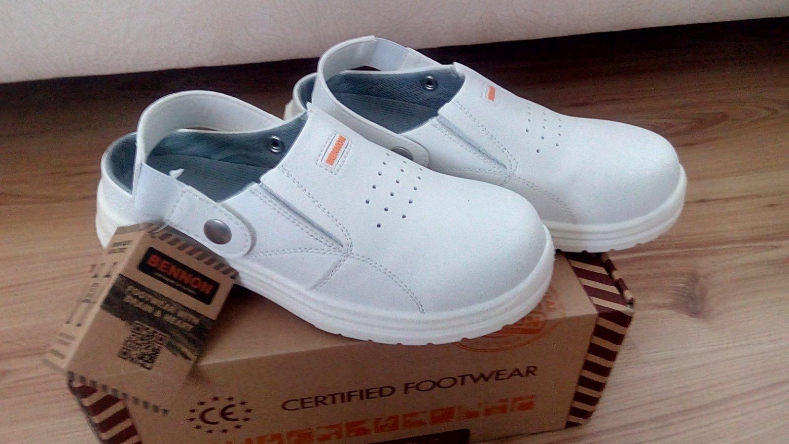 9ea1c12dce58 Pracovná obuv bennon white