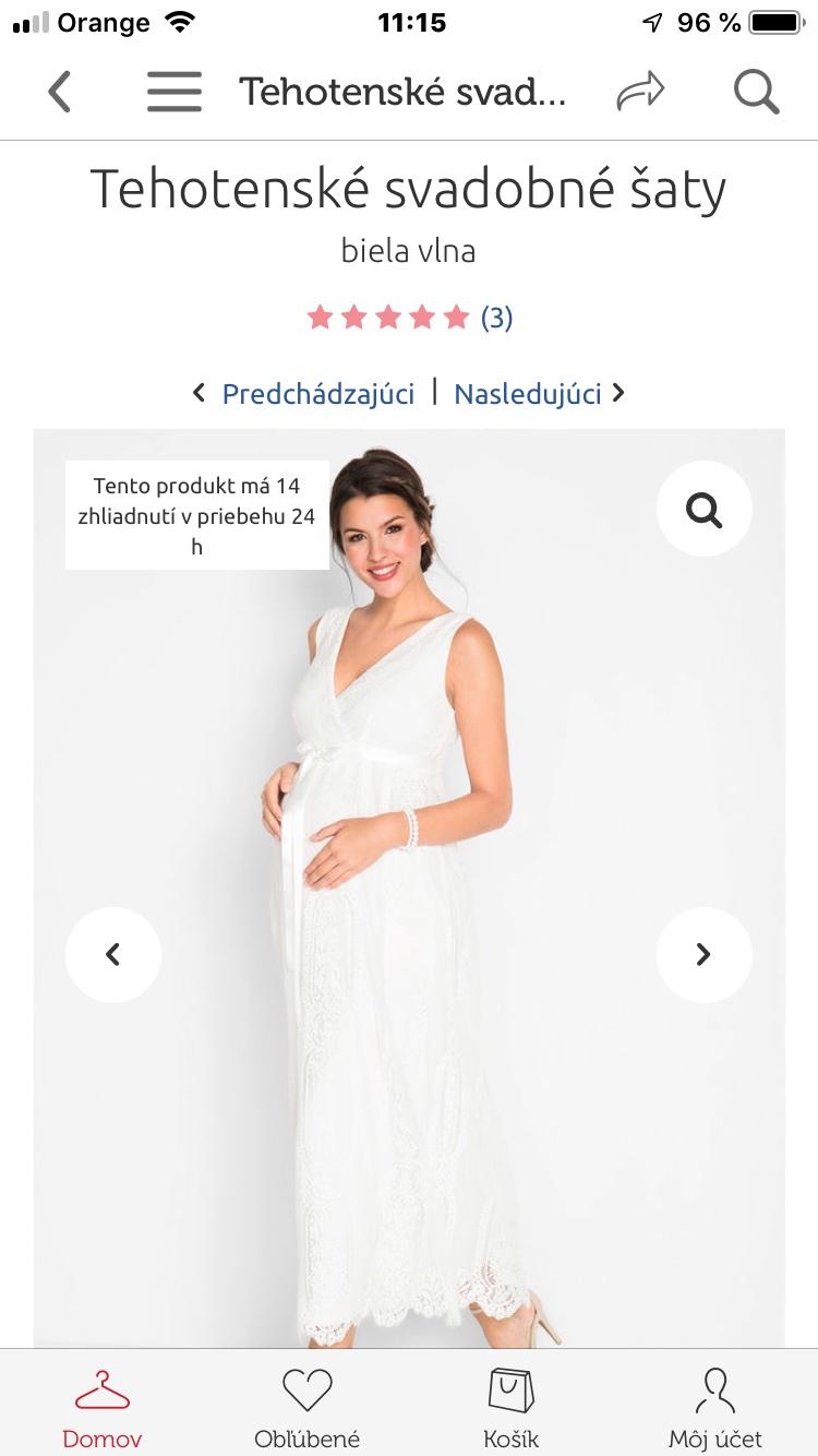 1354d94f8dd1  tinatitti v bonprix majú aj priamo tehotenské šaty.